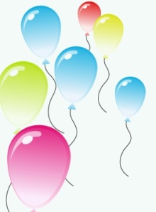 8th April 2013 - balloons