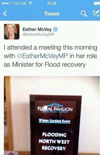 mcvey flood recovery tweet