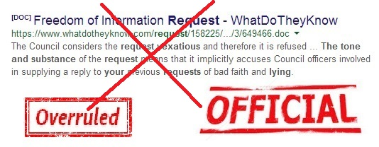 03 07 14 - hattrick vexatious request - overturned