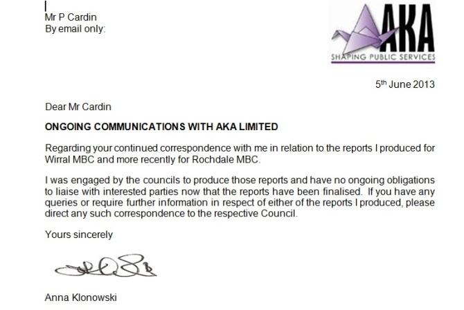 AK Associates - 5th June 2013