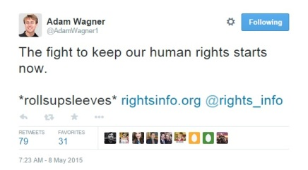 adam wagner the fight to keep our human rights starts now