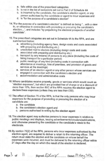 electoral commission statement page 3