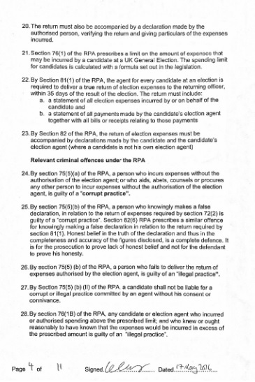electoral commission statement page 4