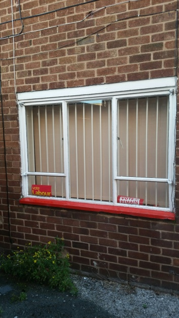 Angela Eagle Office Window