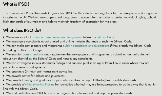 IPSO and what they do