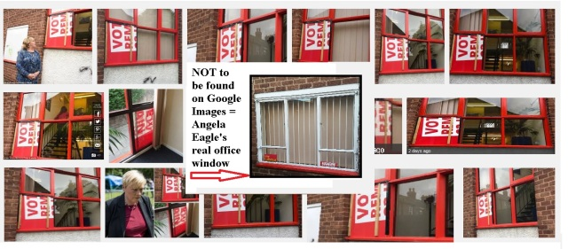 not to be found on google images angela eagles office window