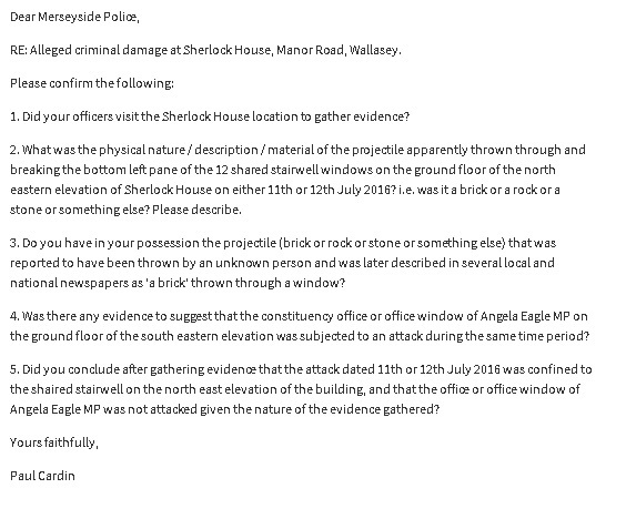 brickgate foi request to merseyside police