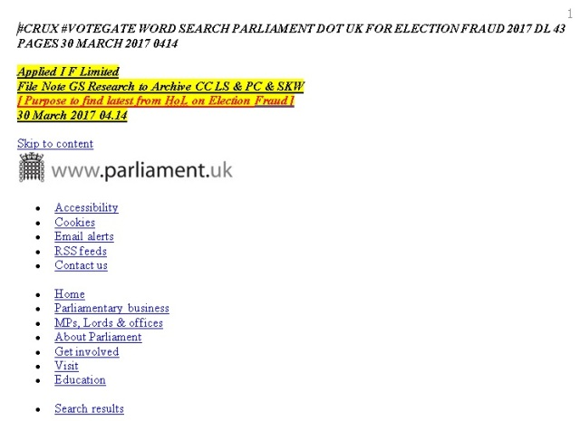 crux votegate wordsearch