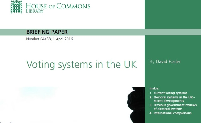 Crux - Voting Systems in the UK
