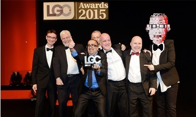 red face at LGC awards