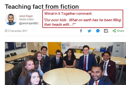 07 12 2017 - BBC amol rajan - brickgate and fakenews