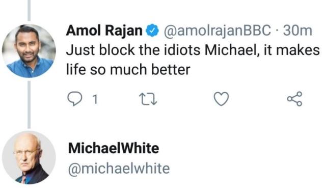 BBC Amol Rajan offensive tweet 2
