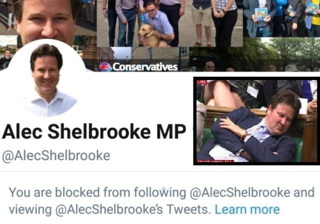 blocked by tory alec shelbrooke