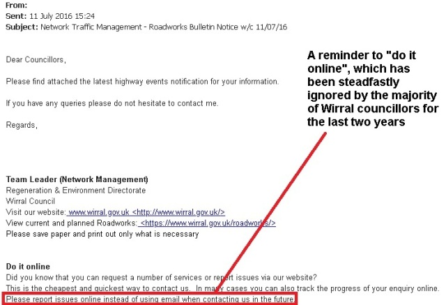 councillor net email - ignored
