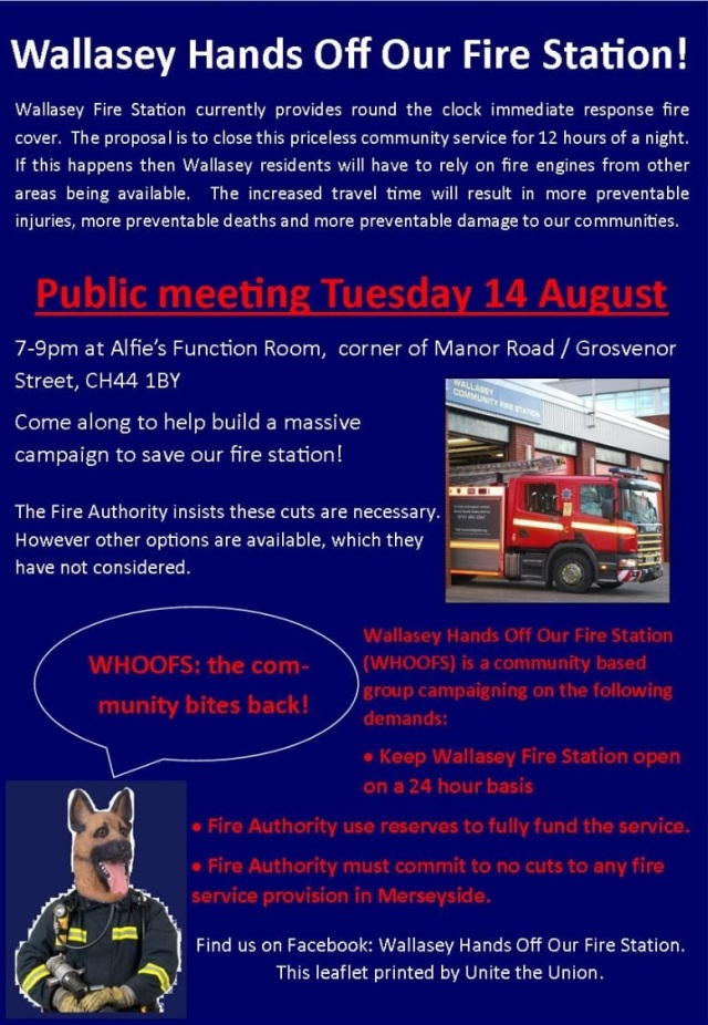 06 08 2018 - Wallasey Hands Off Our Firestation