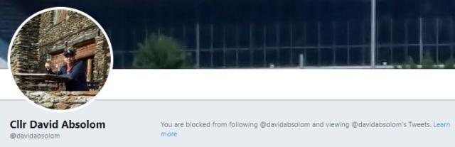 David Absolom blocking