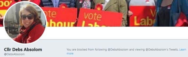 Debs Absolom blocking