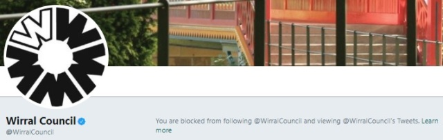 wirral council blocking