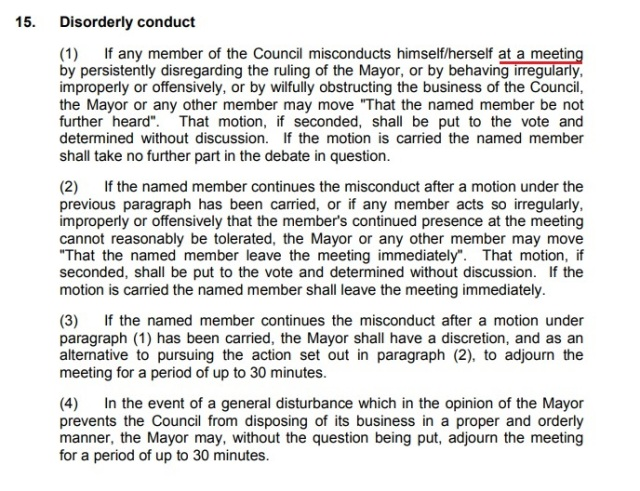 standing order 15 wirral council