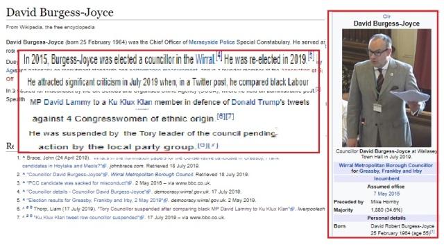 David Burgess Joyce - Wikipedia page