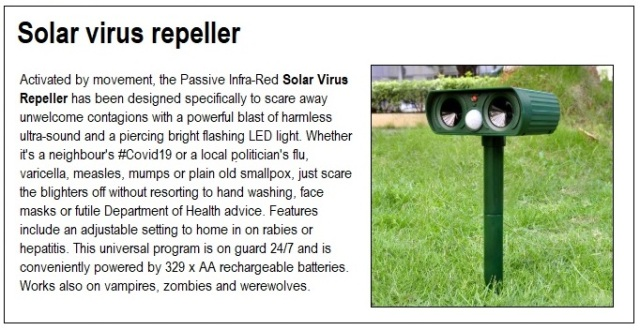 solar virus repeller